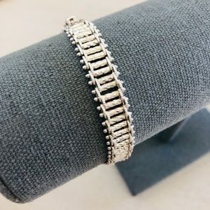PD Sterling Silver Flexible Link Bracelet